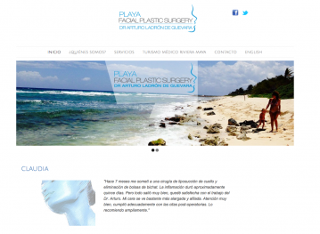 New WordPress Website design and content
